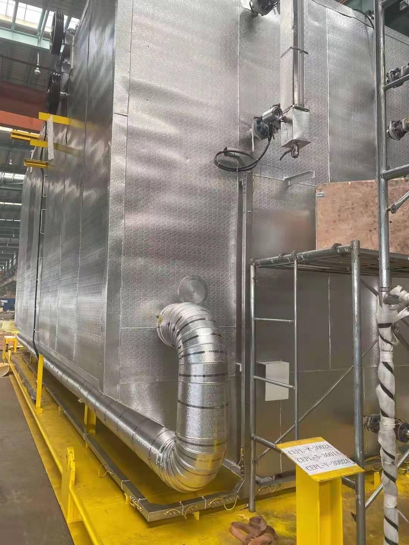 Tianjin Haimen Engineering Department finished the insulation project for Tianjin Zhongji Equipment Manufacturing Co