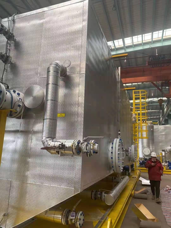 Tianjin Haimen Engineering Department perfectly finished the insulation project for Tianjin Zhongji Equipment Manufacturing Co