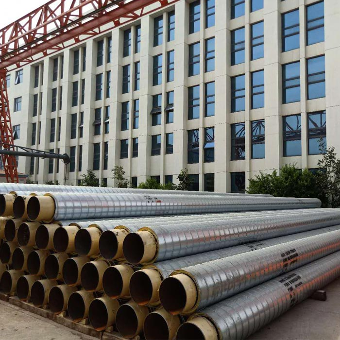 Overhead Insulated Pipe