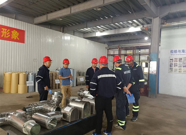 Bomesc and Modec Leaders visit our factory on June , 2019
