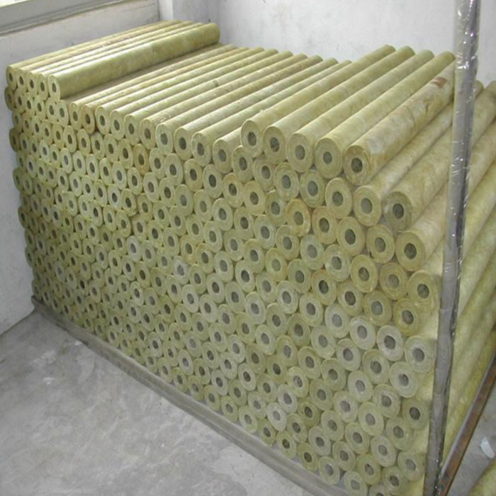 Fireproof Rock Wool Pipe/ Mineral Wool Tube
