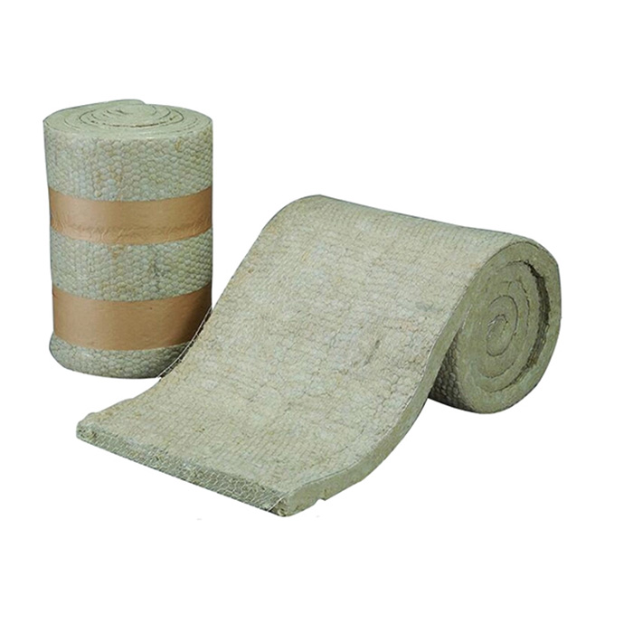 Rock Wool Blanket With Wire Mesh
