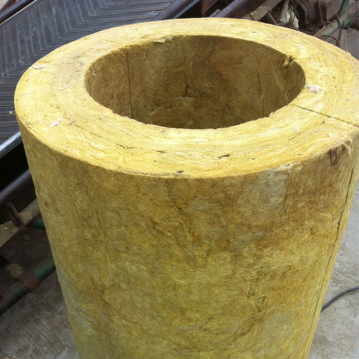Heat Insulation Rock Wool Pipe